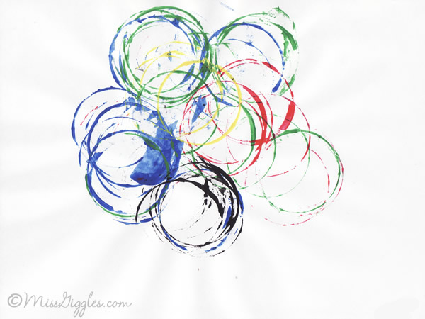 Random Giggles | Olympic Rings Printing