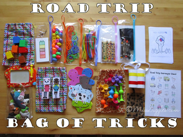 Random Giggles: Road Trip Bag of Tricks