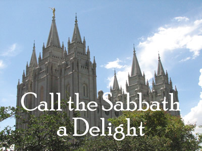 Missgiggles.com | My keys to calling the Sabbath a delight.