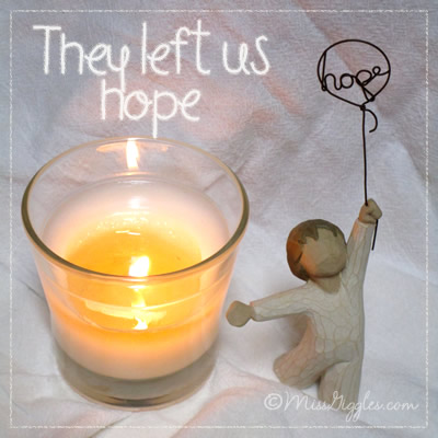 Random Giggles | They left us hope
