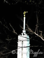 April 10, 2007 – spire at night