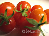 August 12, 2007 – fresh tomatoes