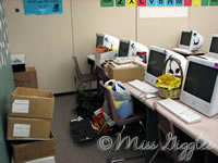 December 28, 2007 – packing work