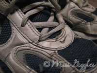 February 8, 2007 – running shoes