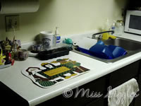 January 1, 2007 – clean dishes