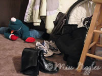 January 13, 2007 – shoes by the door