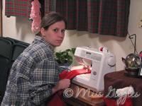 January 19, 2007 – making a jacket