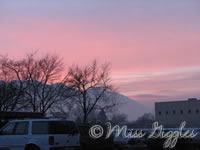 January 30, 3007 – sunrise