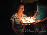 July 23, 2007 – Birthday candles
