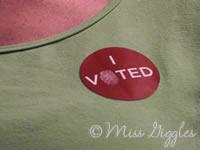 November 6, 2007 – I Voted