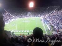 November 8, 2007 – football game