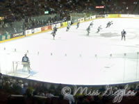 November 9, 2007 – hockey game