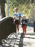 Running with my dad in Santa Fe, NM 1988